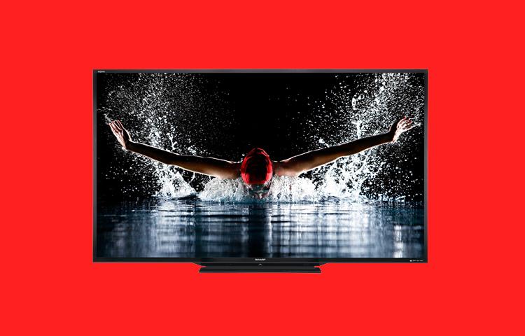 90 AQUOS 1080p LED TV's