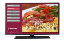 LG LY570H Series Hospitality TV