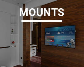 Wide Variety of Wall Mounts
