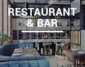 Serving Restaurants, Bars, Pubs, Food Industry, etc.